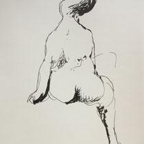 MARINO MARINI, Nr. 11: Un sogno – ein Traum, Replik aus der Werkausgabe Marino Marini 1968, 268/2000