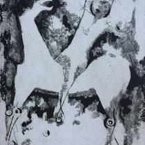 "MARINO MARINI, Apparizione, aus: Mappe ""Imagines"", Propyläenverlag Offset, Wvz 226, 1970, Aufl. 150"