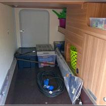 Giselas Zimmer ;)  - kann aber auch als Abstellraum genutzt werden