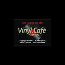 Vinyl.Café Visitenkarten-Entwurf   Augsburg