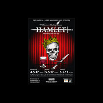 HAMLET Musical-Plakat | Uli-Wieland-Mittelschule Vöhringen