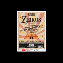 ZIRKUS DER VERGESSENEN Musical-Plakat | Uli-Wieland-Mittelschule Vöhringen