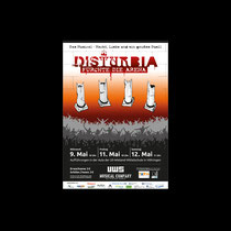 DISTURBIA Musical-Plakat | Uli-Wieland-Mittelschule Vöhringen
