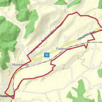 Biketour (Länge 7,8 km, nur mit Mountainbike!)