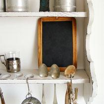 Uraltes Küchen Wandbord 19. Jahrh.
