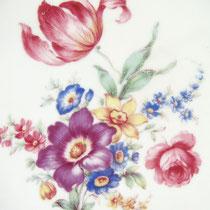 Antikes Porzellan Blumen Dekor