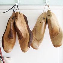 Antike Holz Schuhleisten
