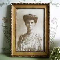 Antikes Foto der dänischen Königin 1903