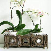 Antiker Kaminvorsatz Gusseisen Empirestil