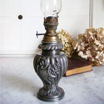 Antike Jugendstil Mini Petroleumlampe 1890 1900