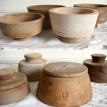 Antike Buttermolen aus Holz