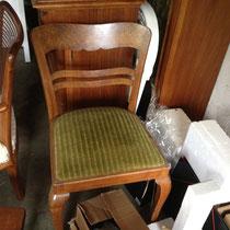Stuhl mit Polster - vorher
