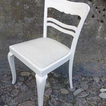 Stuhl mit Polster - nachher