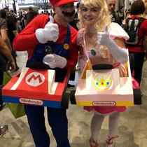 Super Mario und Prinzessin Peach