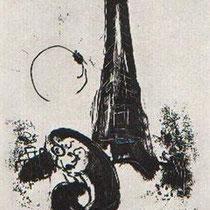 Mere et Enfant a la Tour Eiffel, 1954 [M94]