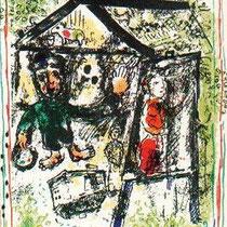 Le Peintre devant le Village [603a]