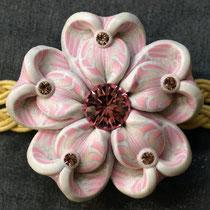 帯留め 桜7