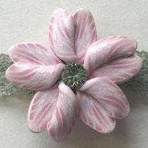 帯留め 桜9
