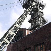 Schacht 4 stammt von der 1960 geschlossenen Zeche Wilhelmine-Victoria in Gelsenkirchen.