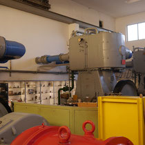 3 der ehemals 5 Borsig Kolbenkompressoren