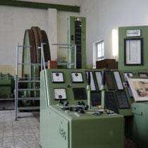 Fahrstand und südliche 1000 kw starke Fördermaschine