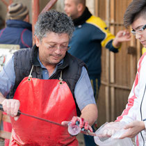 Catania - Thunfisch direkt von der Küste gefangen.