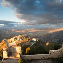 Castello di Lombardia -war eines der größten Kastelle Siziliens.