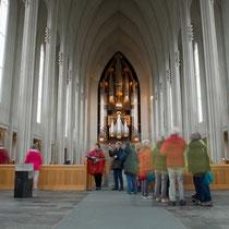 Reykjavik - Halgrimskirkja - Orgel 1992 von Johannes Klais aus Bonn erbaut