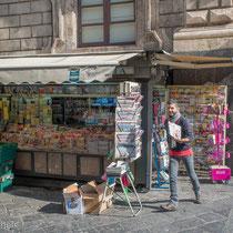 Catania - mit 315.000 Einwohner die zweitgrößte Stadt Siziliens.