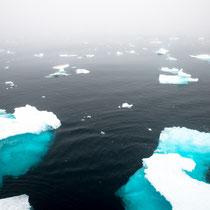 Das Eis wurde dichter