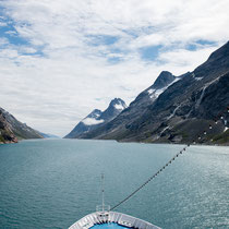 Prins-Christian-Sund - im Süden von Grönland am Kap Farewell