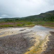 Geysir - im Südwesten von Island