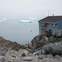 Uummannaq - alle Orte auf Grönland sind nur per Schiff oder Flugzeug zu erreichen