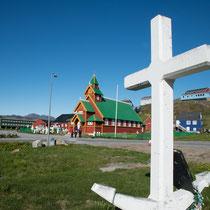 Paarmiut -Landgang - Es gab Pläne, den Ort bis zu 10.000 Einwohner auszubauen