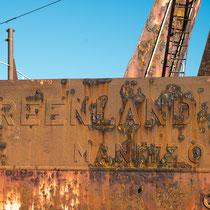 Schiffswracks  vor Paamiut