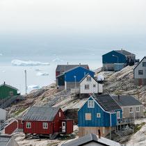Uummannaq - Drehort für den Film SOS Eisberg
