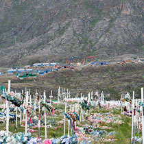 Sisimiut - Ausgangspunkt des in der Trekkingszene bekannten Arctic Circle trails