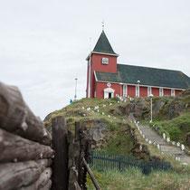 Sisimiut - Kirche stand ursprünglich in Bergen, Norwegen