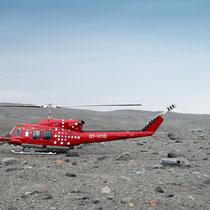 Ilulissat - Mit dem Hubschrauber zum Gletscher
