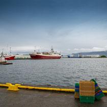 Hafengebiet in Hafnafjodur