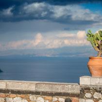 Taormina - Jim Kerr, Sänger der simple minds, besitzt hier das Hotel Villa Angelo.
