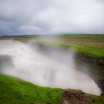 Gulfoss - goldener Wasserfall