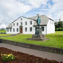 Reykjavik - Durchschnittstemperatur im Juli 13 Grad.