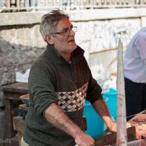 Catania - Fischmarkt jeden Morgen.
