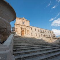 Noto - nach dem Erdbeben 1693 wurde die Stadt komplett im sizilianischen Barock wieder aufgebaut.