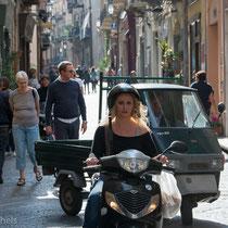 Cefalù - Die Mehrzahl der Häuser in der Altstadt stammen aus dem 16. Jahrhundert.