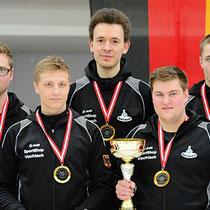 Eisstock WM 2014 Junioren U23 | Mannschaft Deutschland