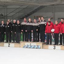 2. Bundesliga Eisstock Herren 2014 - Sieger