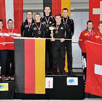 Eisstock WM 2014 Junioren U23 | Mannschaft Siegerehrung