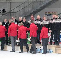 2. Bundesliga Eisstock Herren 2014 - Siegerehrung